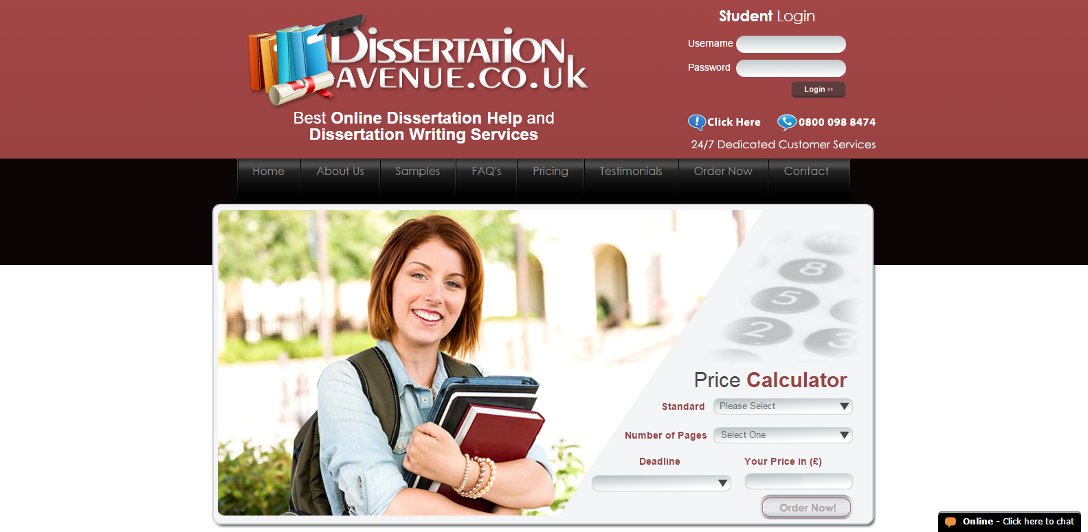 Dissertation help service co uk