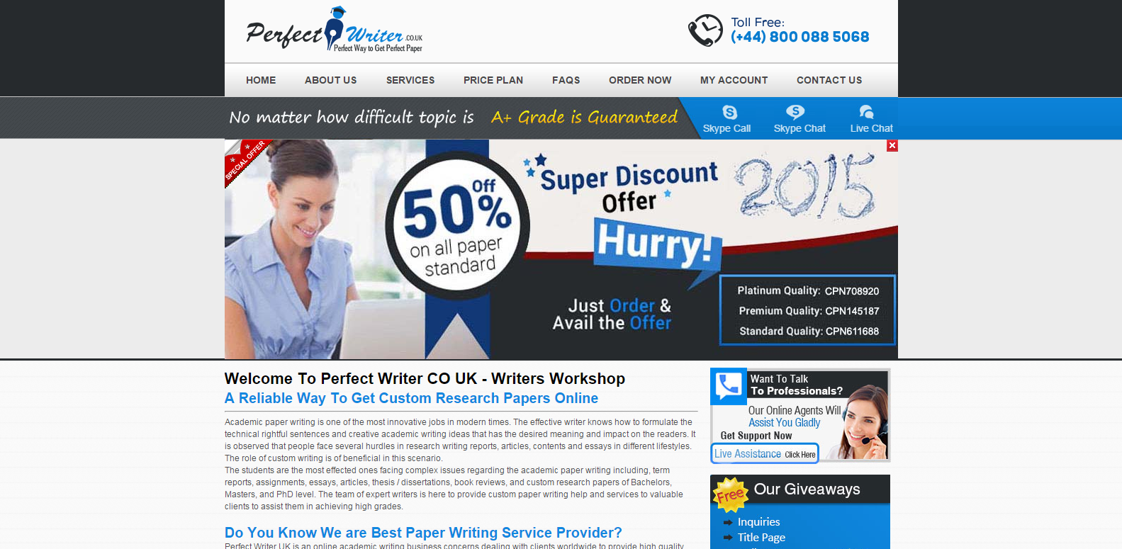 Essay writing service scams