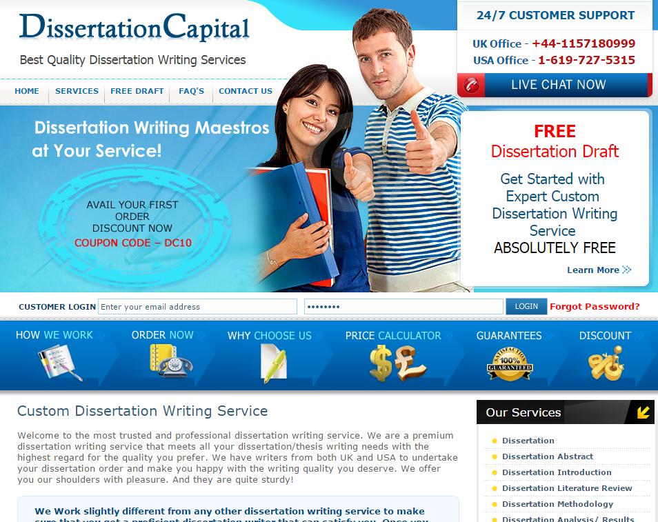 Dissertation Capital